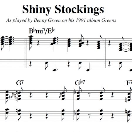 Shiny Stockings