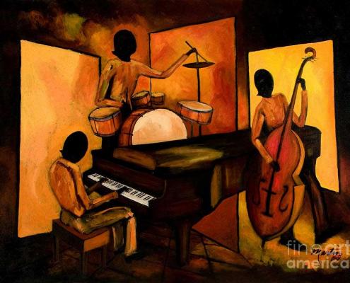 the 1st jazz trio larry martin