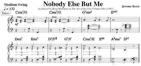 Nobody Else But Me