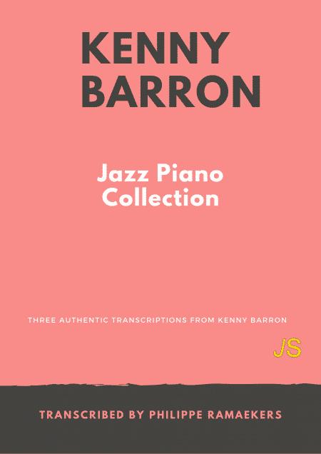 Kenny Barron Jazz Piano Collection omslag