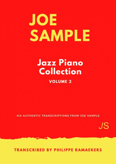 Joe Sample Jazz Piano Collection Volume 2 omslag